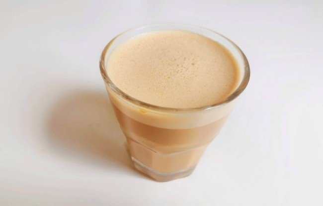 coffee blended with butter aka bulletproof