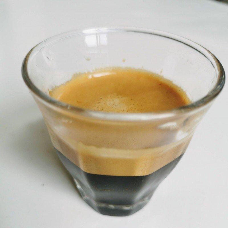 robusto coffee shot
