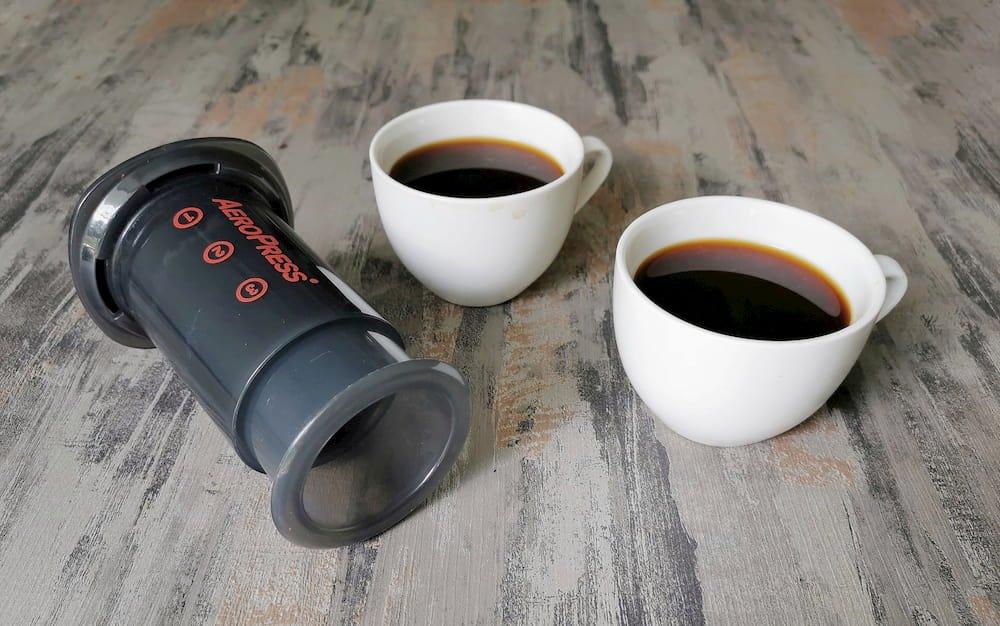 aeropress go two cups