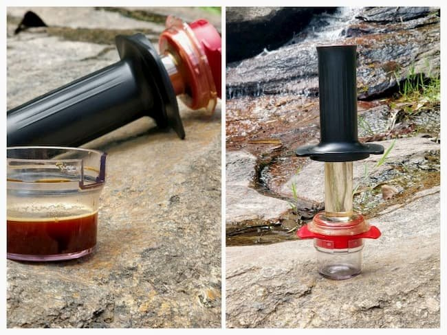 cafflano kompresso hiking trip