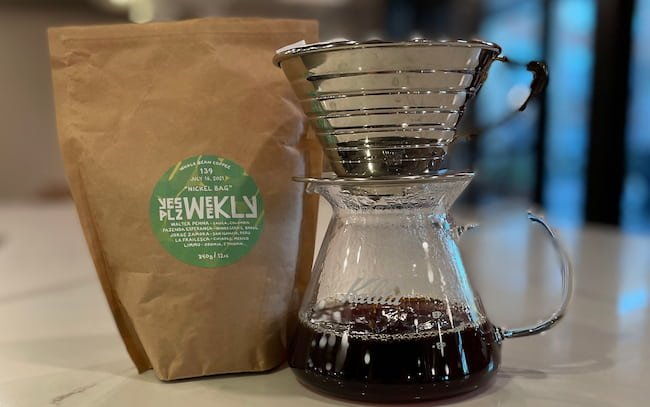 yes plz coffee with kalita wave